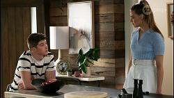 Hendrix Greyson, Chloe Brennan in Neighbours Episode 8458