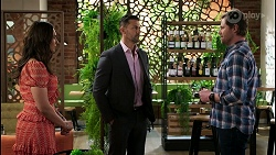 Dipi Rebecchi, Pierce Greyson, Shane Rebecchi in Neighbours Episode 8458