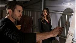 Ned Willis, Scarlett Brady in Neighbours Episode 8458