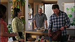 Dipi Rebecchi, Yashvi Rebecchi, Toadie Rebecchi, Shane Rebecchi in Neighbours Episode 8458
