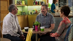 Karl Kennedy, Toadie Rebecchi, Susan Kennedy in Neighbours Episode 8459