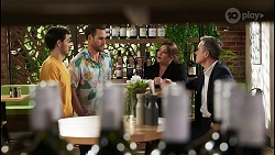David Tanaka, Aaron Brennan, Terese Willis, Paul Robinson in Neighbours Episode 8460