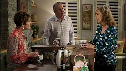Susan Kennedy, Karl Kennedy, Jane Harris in Neighbours Episode 8460