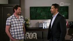 Shane Rebecchi, Pierce Greyson in Neighbours Episode 8462