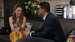 Chloe Brennan, Pierce Greyson in Neighbours Episode 8462
