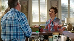Jane Harris, Karl Kennedy, Susan Kennedy in Neighbours Episode 8462
