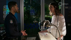 Levi Canning, Scarlett Brady in Neighbours Episode 8463