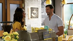 Dipi Rebecchi, Pierce Greyson in Neighbours Episode 8463