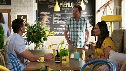 Pierce Greyson, Shane Rebecchi, Dipi Rebecchi in Neighbours Episode 8463