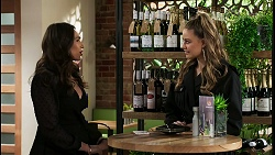 Dipi Rebecchi, Chloe Brennan in Neighbours Episode 8464