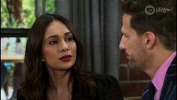 Dipi Rebecchi, Pierce Greyson in Neighbours Episode 8464