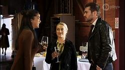 Yashvi Rebecchi, Roxy Willis, Ned Willis in Neighbours Episode 8464