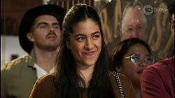 Yashvi Rebecchi, Harold Bishop, Levi Canning in Neighbours Episode 8464