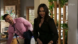 Pierce Greyson, Dipi Rebecchi in Neighbours Episode 8464