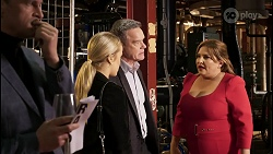 Andrew Shannon, Roxy Willis, Paul Robinson, Terese Willis in Neighbours Episode 8464