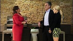 Terese Willis, Paul Robinson, Roxy Willis in Neighbours Episode 8465