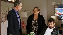 Paul Robinson, Terese Willis, Ned Willis in Neighbours Episode 8465