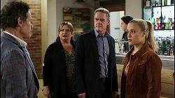 Basil Gardener, Terese Willis, Paul Robinson, Roxy Willis in Neighbours Episode 8465