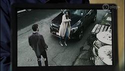 Ned Willis, Scarlett Brady in Neighbours Episode 8465