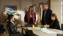 Ned Willis, Bea Nilsson, Paul Robinson, Terese Willis in Neighbours Episode 8465