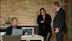 Paul Robinson, Terese Willis, Toadie Rebecchi in Neighbours Episode 8466