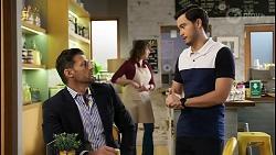 Pierce Greyson, David Tanaka in Neighbours Episode 8466