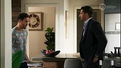 Aaron Brennan, Pierce Greyson in Neighbours Episode 8466