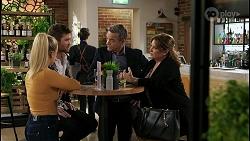 Roxy Willis, Ned Willis, Paul Robinson, Terese Willis in Neighbours Episode 8466