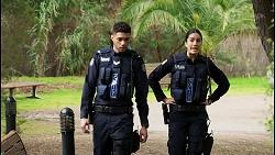 Levi Canning, Yashvi Rebecchi in Neighbours Episode 8466