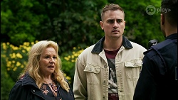 Sheila Canning, Kyle Canning, Levi Canning in Neighbours Episode 8466