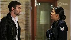 Ned Willis, Yashvi Rebecchi in Neighbours Episode 8466