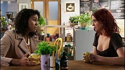 Audrey Hamilton, Nicolette Stone in Neighbours Episode 8467