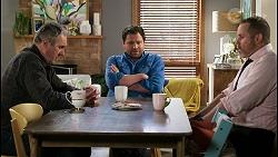 Karl Kennedy, Shane Rebecchi, Toadie Rebecchi in Neighbours Episode 8467