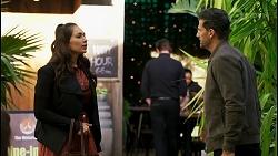 Dipi Rebecchi, Pierce Greyson in Neighbours Episode 8467