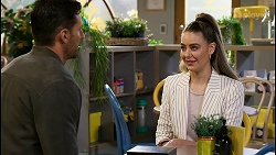 Pierce Greyson, Chloe Brennan in Neighbours Episode 8468