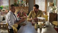Toadie Rebecchi, Mackenzie Hargreaves, Shane Rebecchi in Neighbours Episode 8469