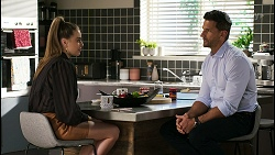Chloe Brennan, Pierce Greyson in Neighbours Episode 8469