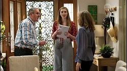 Karl Kennedy, Mackenzie Hargreaves, Jane Harris in Neighbours Episode 8469
