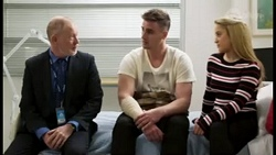 Clive Gibbons, Kyle Canning, Roxy Willis in Neighbours Episode 8470