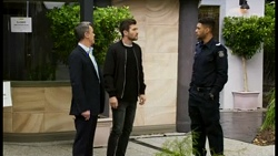 Paul Robinson, Ned Willis, Levi Canning in Neighbours Episode 8470