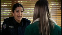 Yashvi Rebecchi, Bea Nilsson in Neighbours Episode 8470