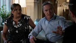 Terese Willis, Paul Robinson, Ned Willis in Neighbours Episode 8471