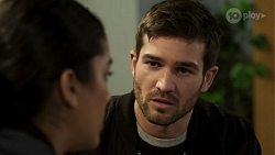 Yashvi Rebecchi, Ned Willis in Neighbours Episode 8472
