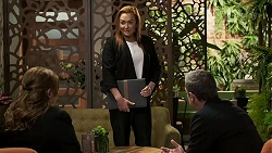 Terese Willis, Juliana Ayres, Paul Robinson in Neighbours Episode 8472