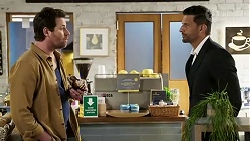 Shane Rebecchi, Pierce Greyson in Neighbours Episode 8473