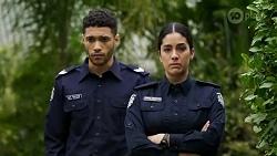 Levi Canning, Yashvi Rebecchi in Neighbours Episode 8473