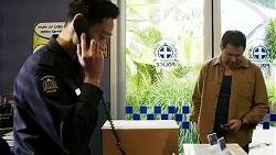 Constable Miles Doughty, Shane Rebecchi in Neighbours Episode 8473