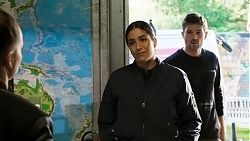 Yashvi Rebecchi, Ned Willis in Neighbours Episode 8473
