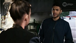 Bea Nilsson, Levi Canning in Neighbours Episode 8473