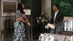 Dipi Rebecchi, Pierce Greyson in Neighbours Episode 8474